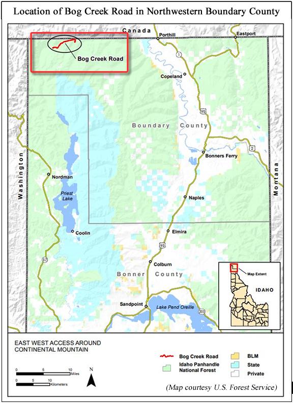 Boundary County, Idaho, News